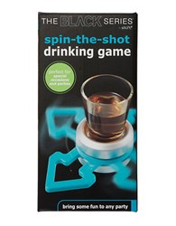 Sharper Image Black Series Spin The Shot Spinner Game No Color