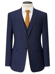 John Lewis Kin By Miller Pindot Tailored Suit Jacket Bright Blue