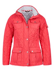 Barbour Buryhead Quilted Jacket Red