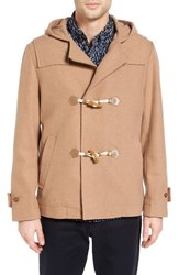 French Connection Men's Marine Melton Duffle Coat