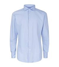 Slowear Dot Print Shirt Male Blue