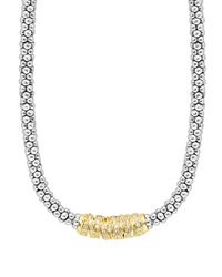 Embrace Diamond Station Necklace 16'L Lagos