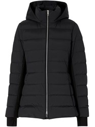 Burberry Fitted Puffer Jacket Black