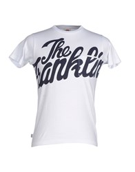 Franklin And Marshall Topwear T Shirts Men White