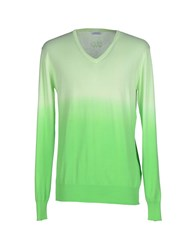 Gaudi' Knitwear Jumpers Men Light Green
