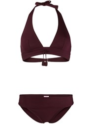 Eres Triangle Top Bikini Purple