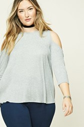 Forever 21 Plus Size Heathered Tunic