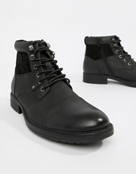 New Look Boots With Zip Detail In Black