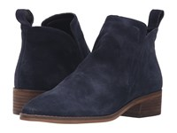 Dolce Vita Tessey Navy Suede Women's Shoes Blue