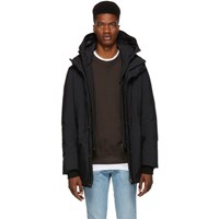 Mackage Black Elliot Powder Touch Down Jacket