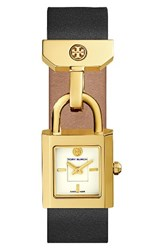 Tory Burch Women's Surrey Leather Strap Watch 21Mm