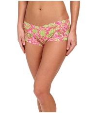 Hanky Panky Loves Lilly Pulitzer Luscious Boyshort Luscious Women's Underwear Pink