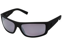 Von Zipper Semi Polar Black Satin Wilde Rose Chrome Polar Plus Polarized Fashion Sunglasses Pewter