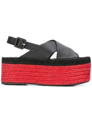 Paloma Barcelo Fiona Sandals Black