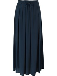 Woolrich Pleated Skirt Blue