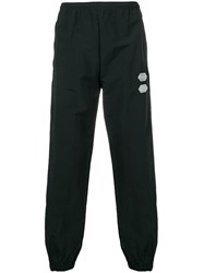 Off White Elasticated Trousers Black