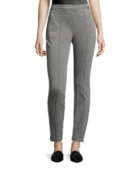 St. John Denim Ponte Leggings Gray