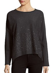 Marc New York Performance Plus Size Knitted Long Sleeve Top Black