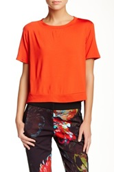 Trina Turk Elicia Tee Red