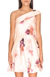 Keepsake The Label Women's Devlin Floral Print One Shoulder Minidress