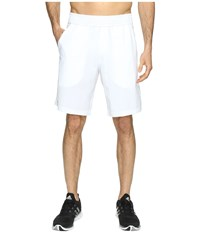Adidas Essex Shorts White Black Men's Shorts