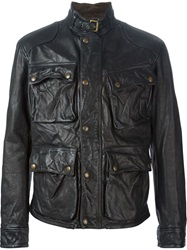 Polo Ralph Lauren Leather Jacket Black