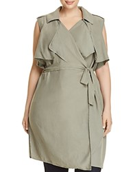 Bagatelle Plus Trench Vest 100 Exclusive Olive