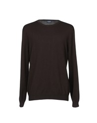 Zanieri Knitwear Jumpers Dark Brown