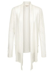 Fat Face Libby Cardigan White