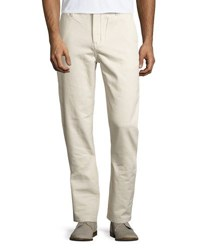 Wesc Eddy Flat Front Chino Pants Beige