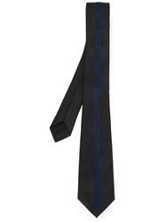Valentino Garavani Striped Tie Black