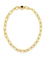 Vince Camuto Linked In Style Chain Link Necklace Gold