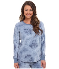 P.J. Salvage Tie Dye Sweater Denim Women's Sweater Blue