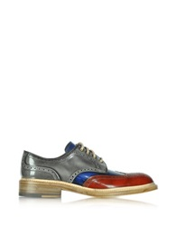 Forzieri Multicolor Wingtip Derby Shoes