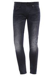 Superdry Slim Fit Jeans Dusted Black Blue Stone Blue Denim