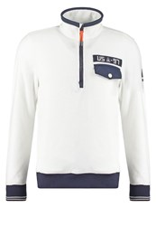 Gaastra Idlers Fleece Jumper Weiss White