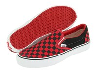 Vans Classic Slip On Core Classics Black Formula One Checkerboard Canvas Shoes