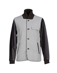 Uniforms For The Dedicated Coats And Jackets Jackets Men Light Grey