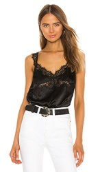Cami Nyc The Mindy Bodysuit In Black.