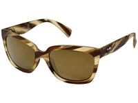 Kaenon Cali Driftwood Brown 12 Polarized Gold Mirror Sport Sunglasses