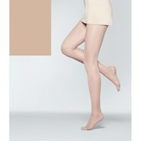 John Lewis 40 Denier Firm Support Tights Pack Of 1 Natural Tan
