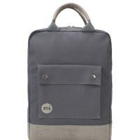 Mi Pac Classic Canvas Tote Back Pack Charcoal
