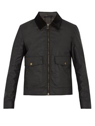 Belstaff Mentmore Waxed Cotton Jacket Black