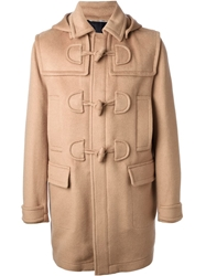 Valentino Toggle Fastening Duffle Coat Nude And Neutrals