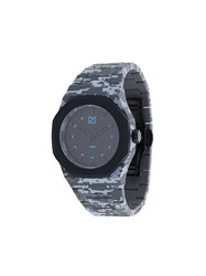D1 Milano Camouflage Watch Polycarbonite Grey