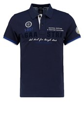 Gaastra Peakart Polo Shirt Navy Dark Blue