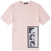 Raf Simons X Robert Mapplethorpe Self Portrait Tee Pink