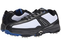 Callaway Chev Aero Ii White Black Blue Men's Golf Shoes