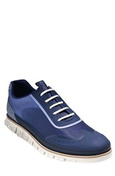 Cole Haan 'Zerogrand' Wingtip Sneaker Men Cornwall Blue