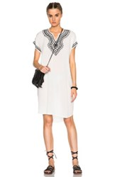 Nsf Fawn Dress In White